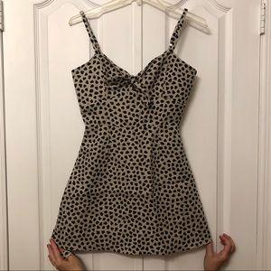 Reformation Linen Mini Dress with Belt Size 0